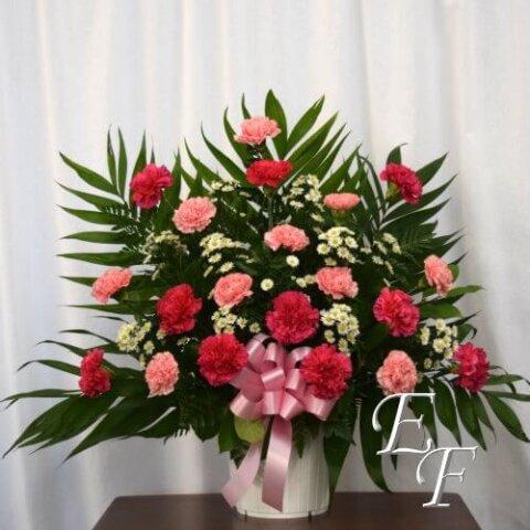 200-2 Carnation Sympathy Mache 500