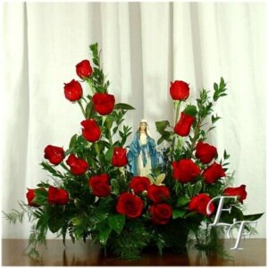 202-3C Blessed Mother Rose Tribute 500