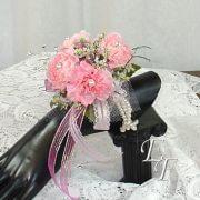 701-Pink Carn Corsage