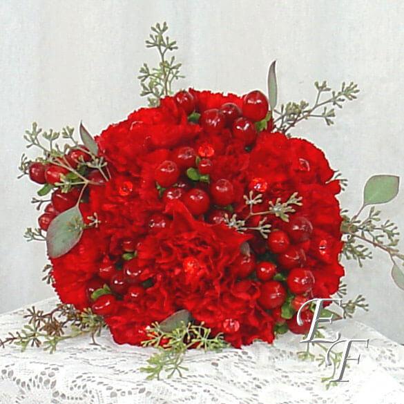red carnation bouquet ef 702 essex florist greenhouses inc