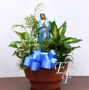 Blessed Mother Planter