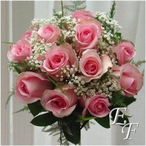 Pink monochromatic bouquet