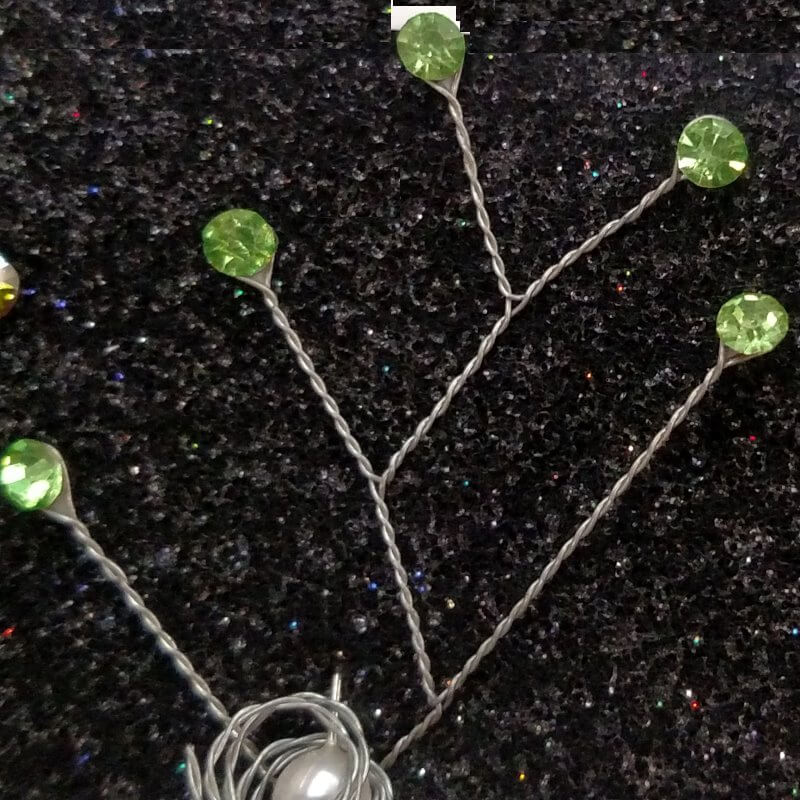 Lime Green Gemstone Sprays