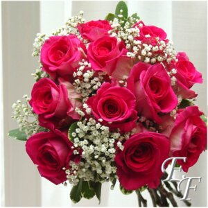 WED727 Hot Pink Roses Web