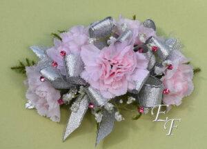 EF 854 Pink Miniature Carnation Corsage