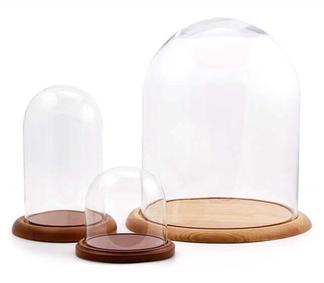 We offer 3 keepsake dome sizes.