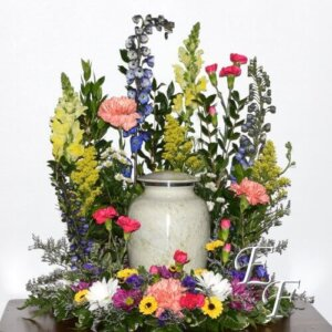 214-5 Vibrant Sympathy Urn Design 500
