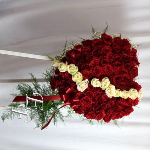 218-T6 Rose broken heart 500