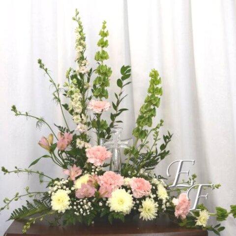 201-3 Pink Garden Cross 500