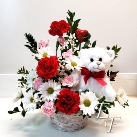 Valentine's Huggie Bear